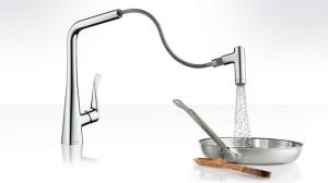 смеситель для кухни Hansgrohe Metris Select